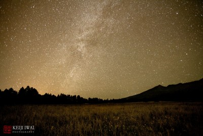 San Francisco Peaks and Milky Way