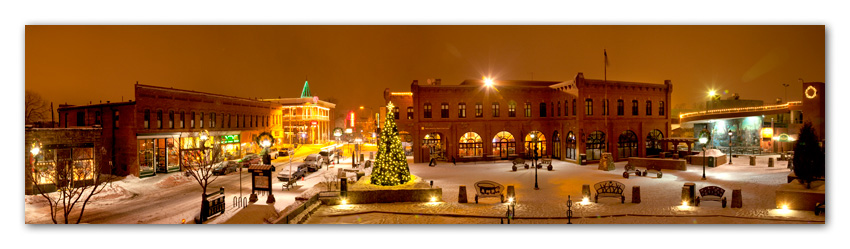 Christmas at Heritage Square Flagstaff Arizona